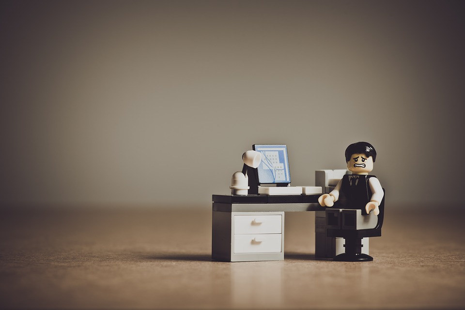 Lego businessmand