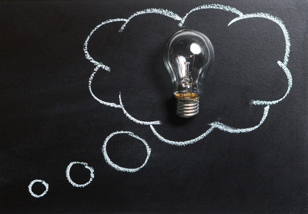 Der skal genereres idéer