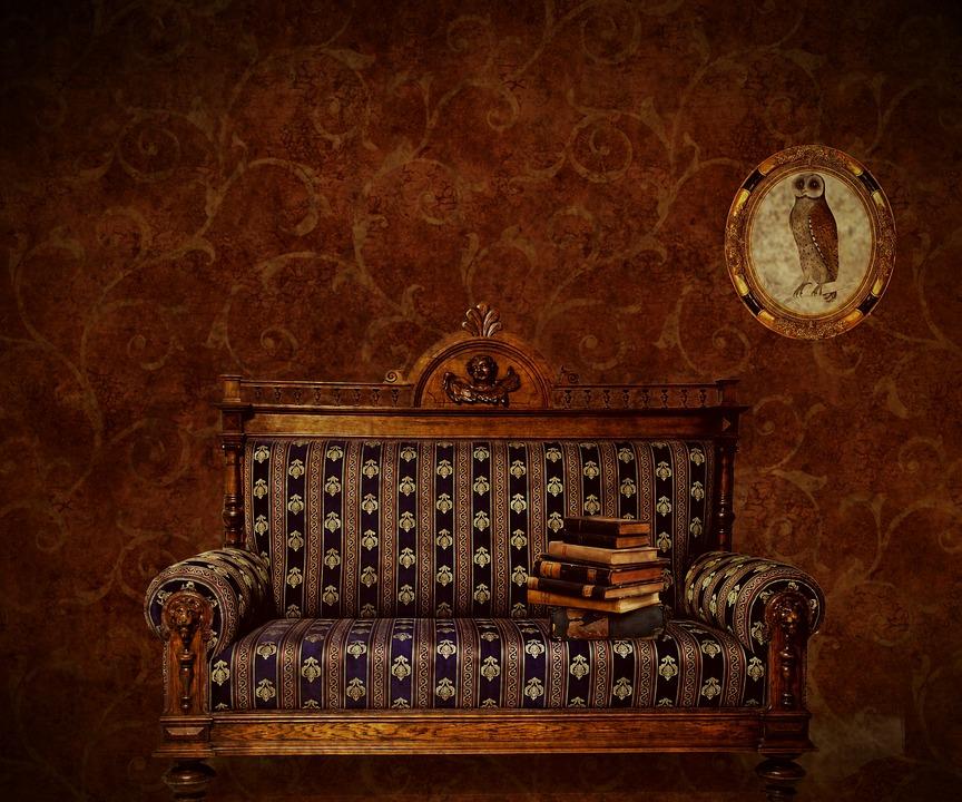 sofa i hus
